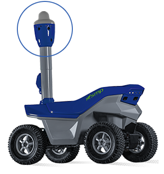 S5.2 Djet Security surveillance robot